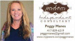 Peggy Manes Jordan Essentials Consultant